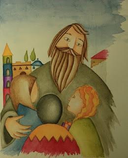 Так святого Василия изображают в детских книгах