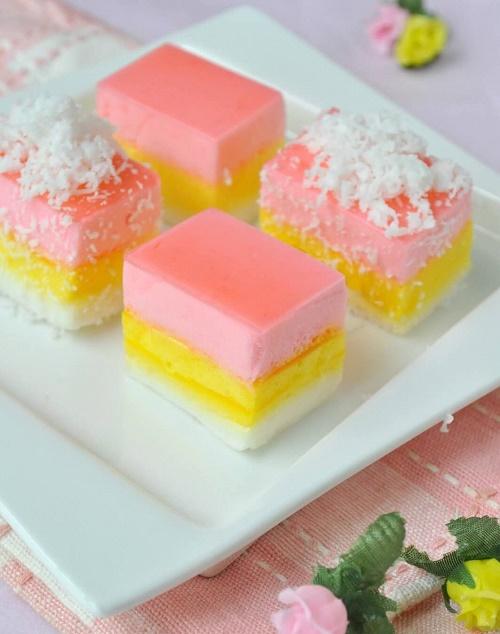 marshmallow pudding Korean
