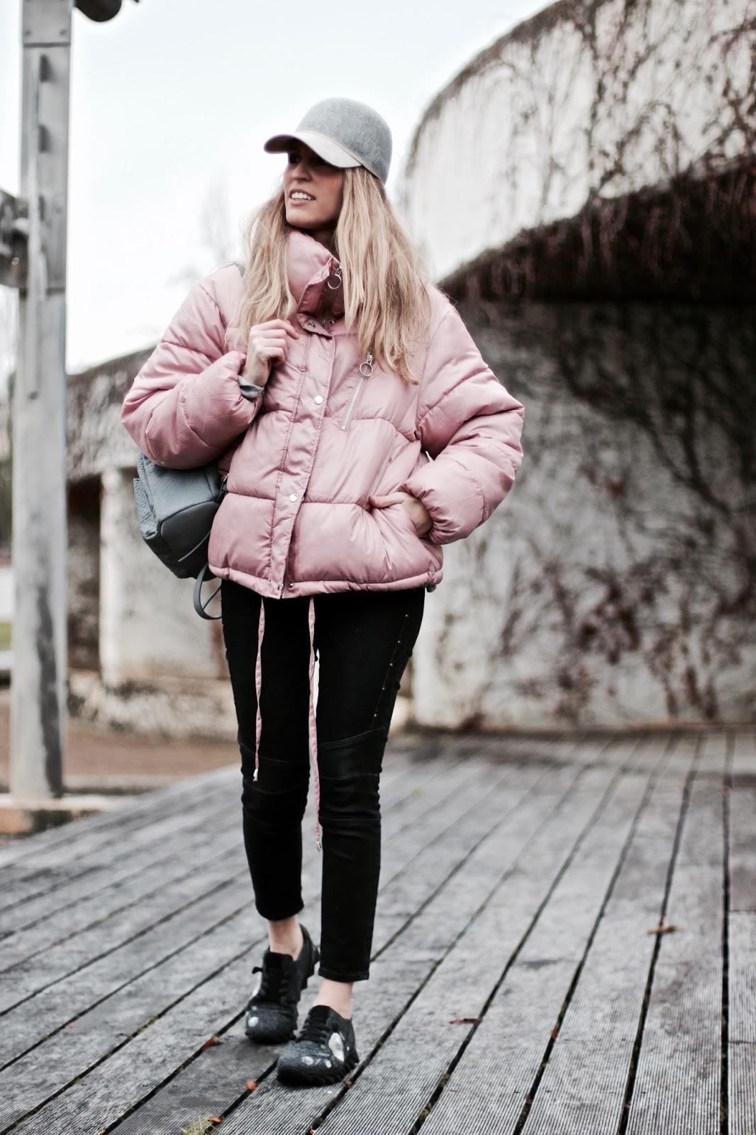 plumas corto rosa