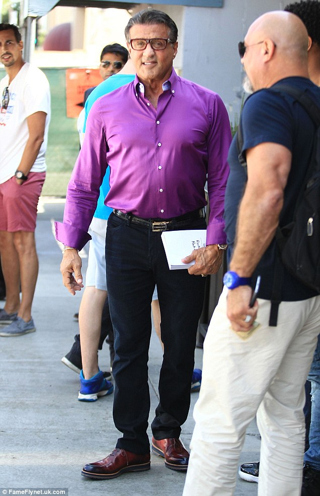Hollywood actor Sylvester Stallone looks too good at 70 ...