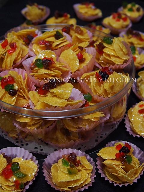 resep cornflakes madu