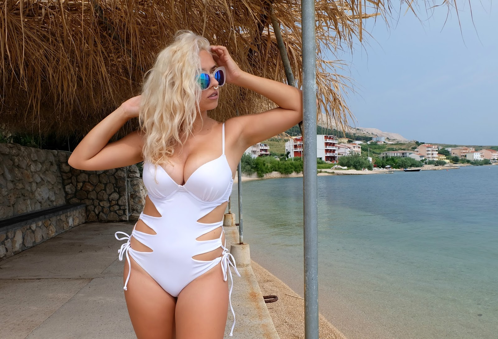 White swimsuits for women