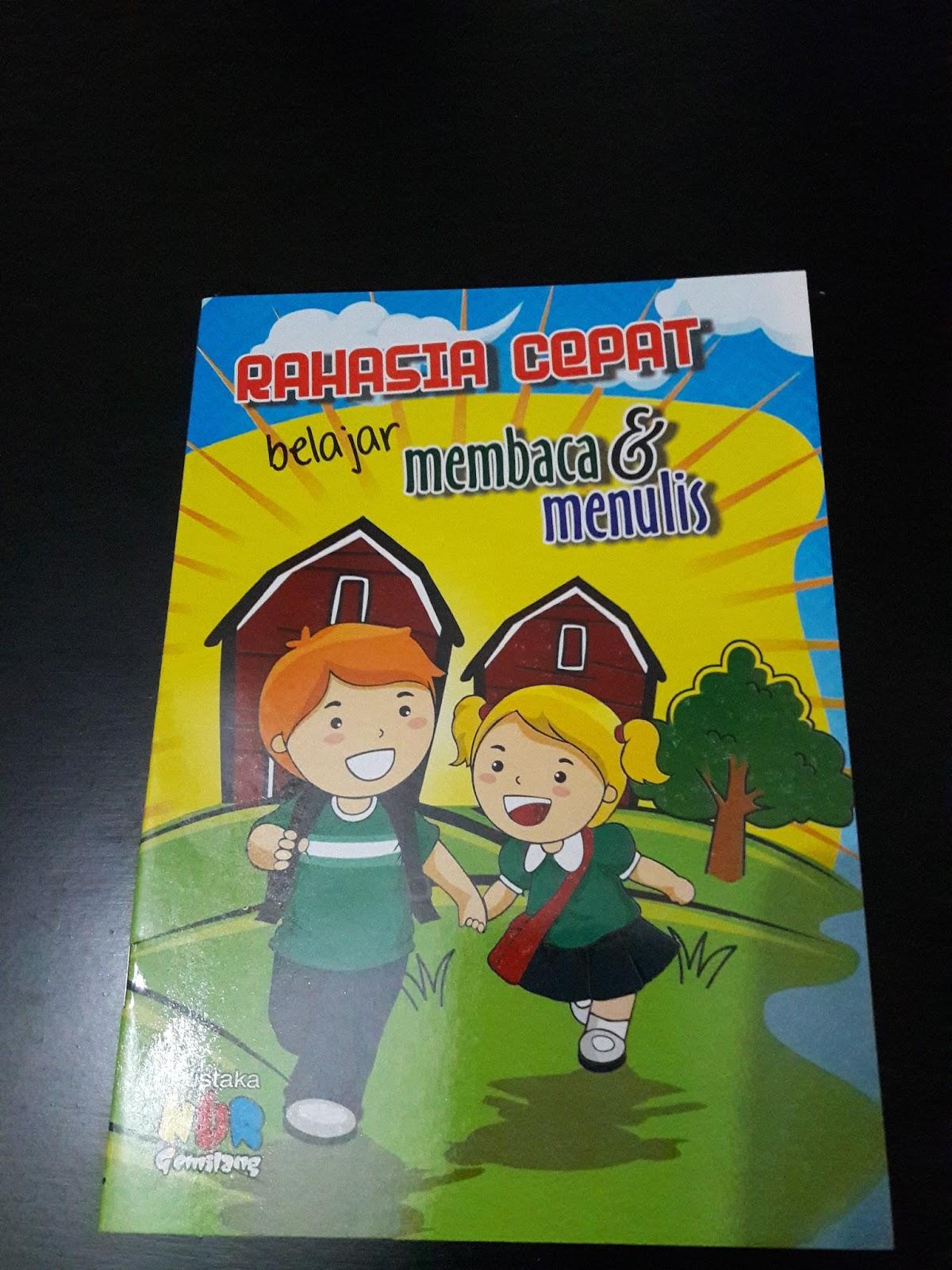 Rahasia belajar membaca & menulis Rp 6 000
