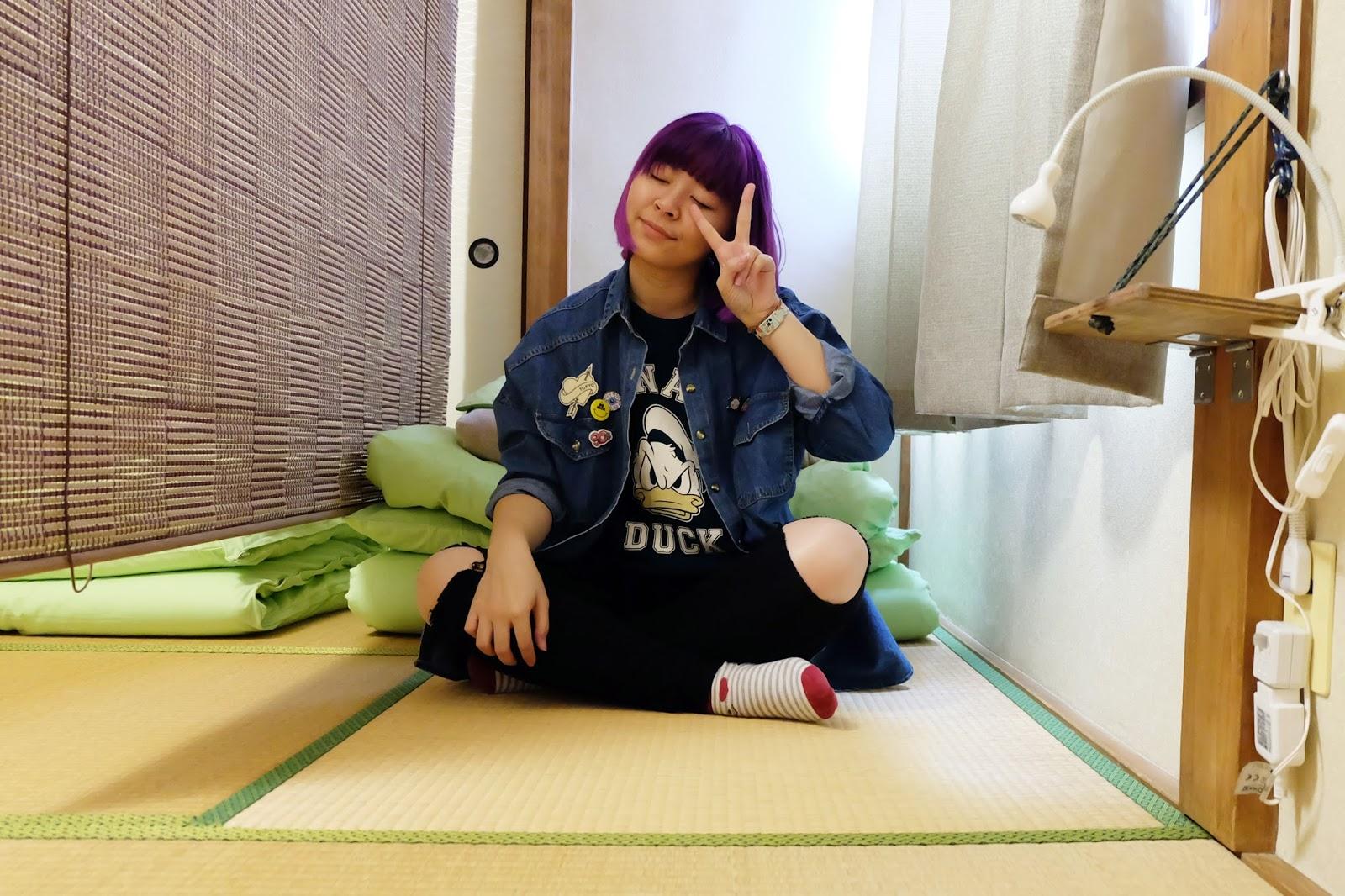 my preparation for Japan solo trip book room | www.bigdreamerblog.com