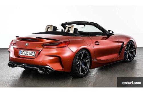 ampilan belakang modifikasi BMW Z4 terbaru dari AC Schnitzer