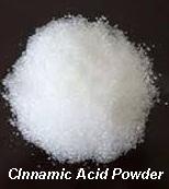 Cinnamic acid.