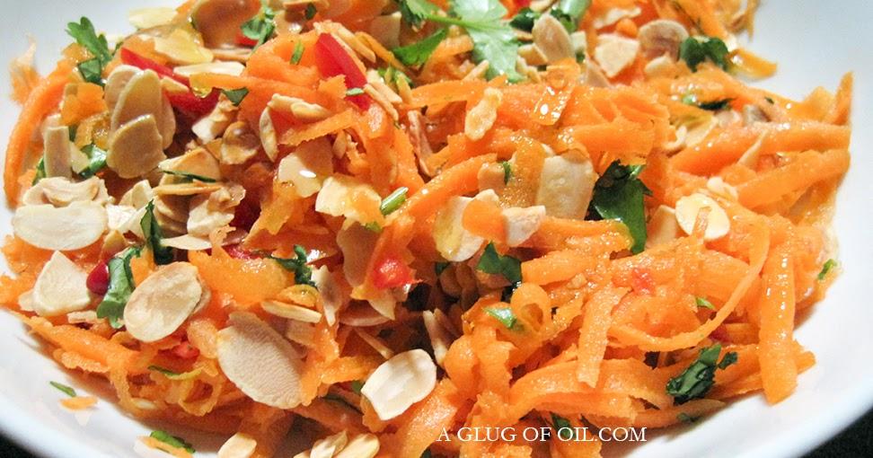 Carrot Salad Jamie Oliver A Glug Of Oil