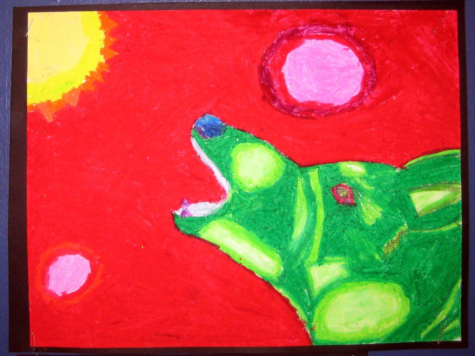 Mrs Art Teacher Franz Marc Results 6th Grade