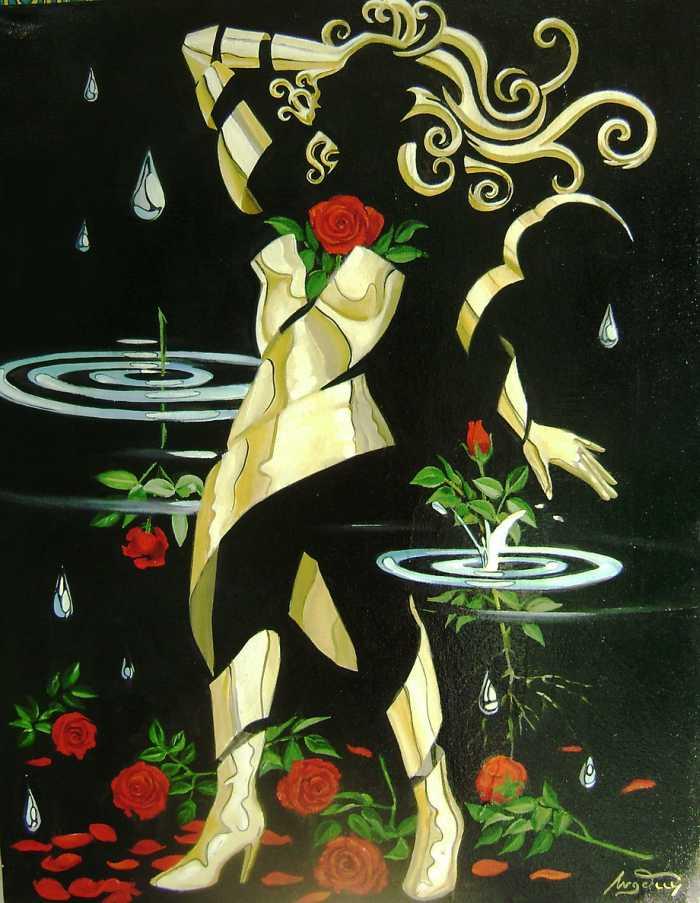 Бразильский художник. Celso Angelini
