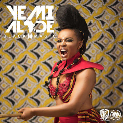 "Yemi Alade Black Magic Album Art Front 1 - ENTERTAINMENT: Yemi Alade releases Cover Art & Tracklist for Forthcoming Album ""Black Magic"""
