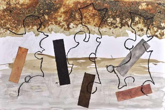 """Henri GIRARD, """"Mez notariou"""", artistes@home 2, Cactus Quimper oct.2018"""