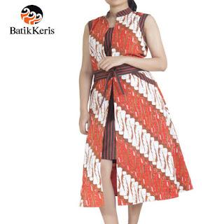 baju kerja batik keris wanita