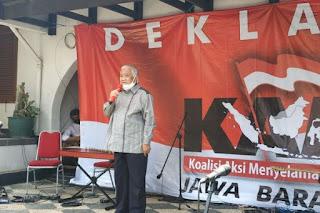 Din Syamsuddin: Saatnya KAMI Menggugat, Hentikan Kezaliman!