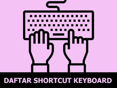 Shortcut Keyboard Windows XP, Windows 7, Windows 8 dan Windows 10