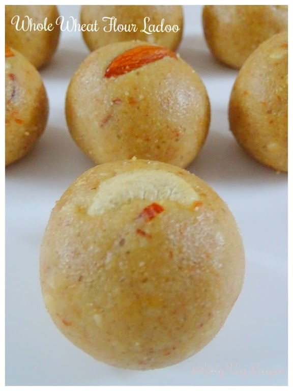 Whole wheat flour ball/ Atta Ladoo is a most popular Indian sweet, especially during winters. Wheat flour Ladoo is a taste and delicious tea time snack.  atta, ladoo, fusion, Desserts  Sweets   Mithai Recipes, Breakfast&Snacks, atta, ladoo,
