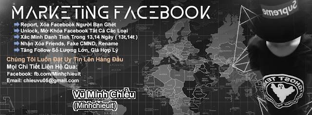 PSD Ảnh Bìa Marketing Facebook