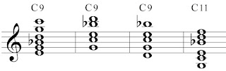 Extended chords in inversion