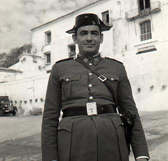 El cazador del arco iris: Guardia Civil en la época de maquis.