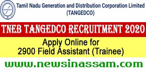TANGEDCO TNEB Recruitment 2020