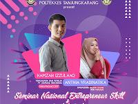 BEM Poltekes Tanjungkarang Gelar Seminar Nasional Entrepreneurship & Bedah Buku
