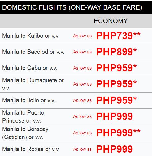 Philippine Airlines Promo 2019
