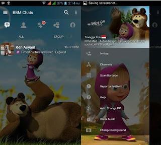 BBM Marsha And The Bear