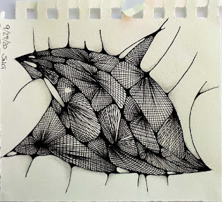 Inspired by...Vlecht as big open mouthed fish