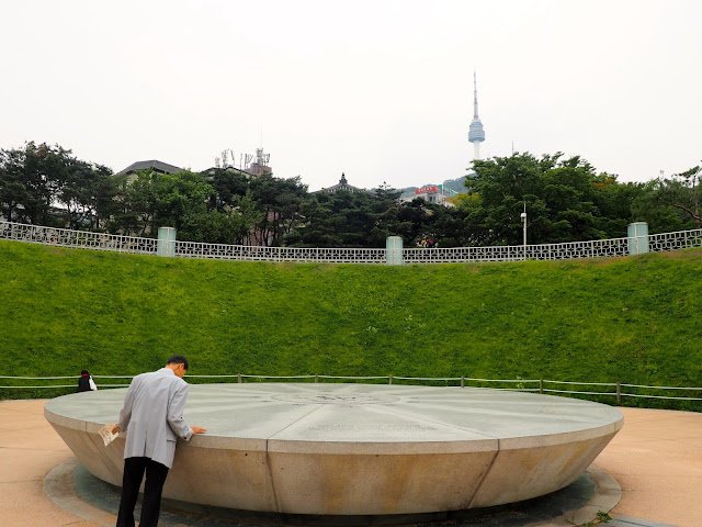 Millennium Square time capsule in Seoul, South Korea