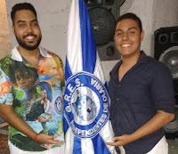 carnavalescos Guilherme Estevão e Vinicius Nascimento