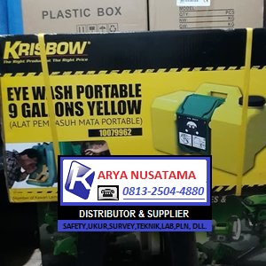 Jual Eye Wash Portable Krisbow (010079962) di Bandung