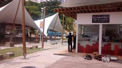 "Hoje tem  ""Feijão Fradinho"" na Praça Caramuru"