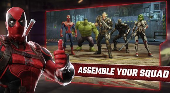 Marvel Strike Force Mod Apk v3.0.1 Free Skills Terbaru