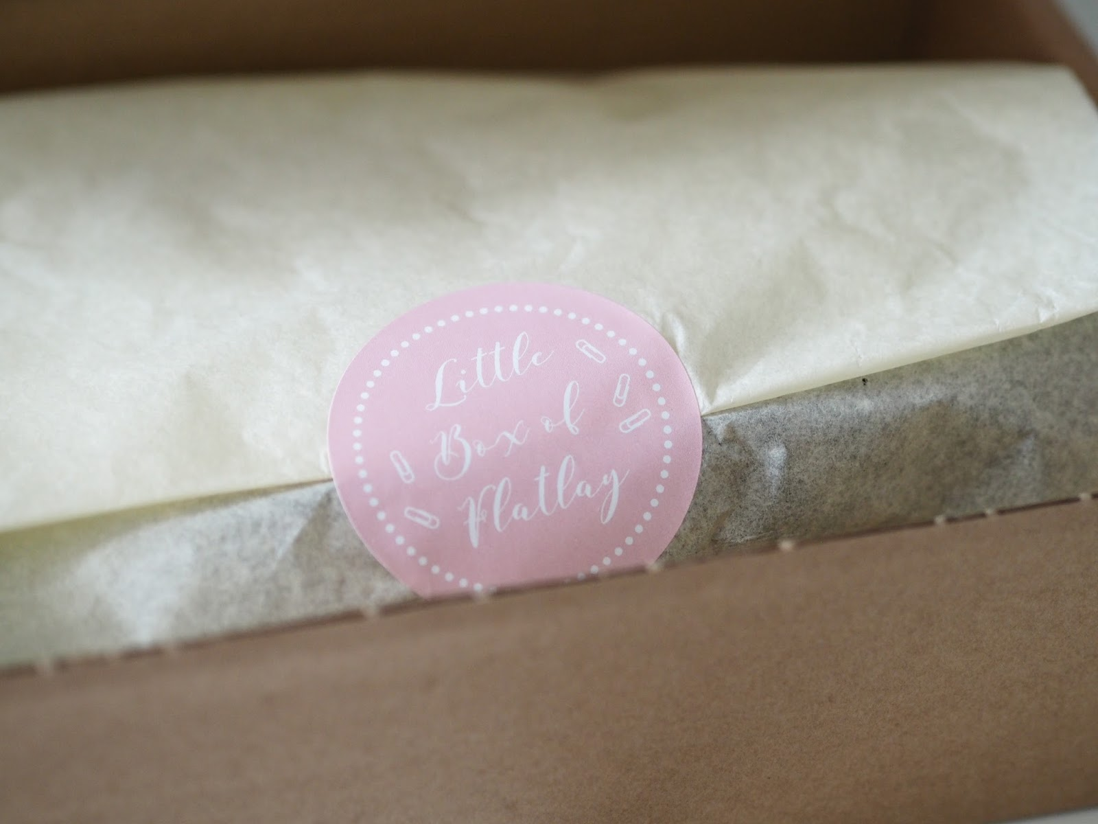 Little Box of Flatlay \ review \ blogger \ subscription box \ props \ Priceless Life of Mine \ Over 40 lifestyle blog