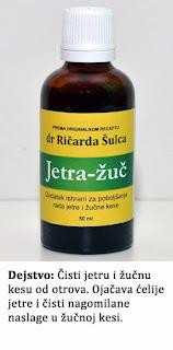 Jetra-žuč (tinktura za jetru)