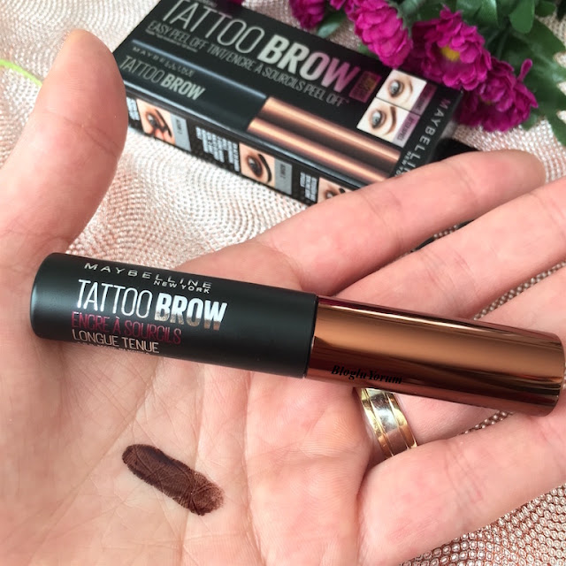 maybelline tattoo brow medium brown incelemesi 3