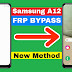 Samsung A12 FRP Bypass/Google Account Lock Bypass || Sound & Vibiration Option Not Available Fixed