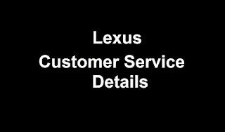 Lexus Customer Service Number