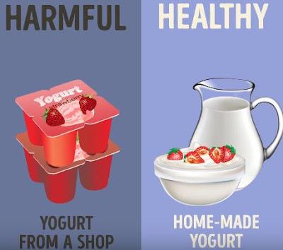 Good Bad food for Health 8