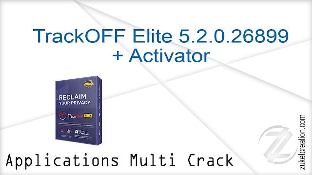 TrackOFF Elite 5.2.0.26899 + Activator