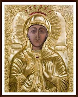 Icoana Facatoare de Minuni a Sfintei Parascheva din Biserica Sfantul Gheorghe Noi,