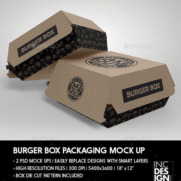 Download PSD Mockups Burger Box Mockup Free Branding Mockups - Free ...