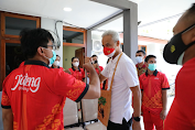 PON XX Papua, Ganjar Motivasi Atlet asal Jawa Tengah