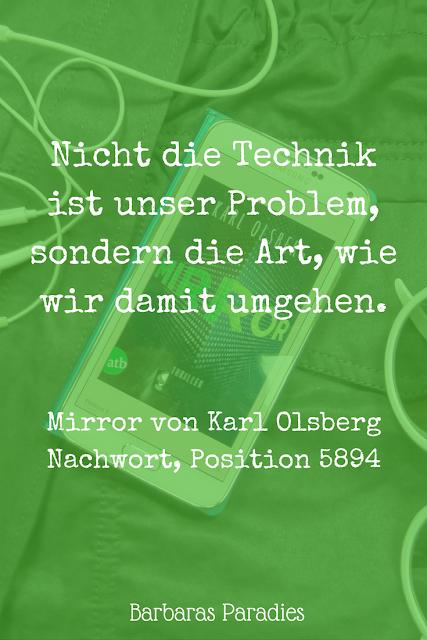 Buchrezension #132 Mirror von Karl Olsberg