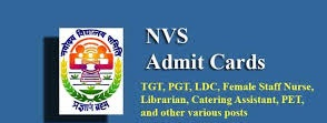 NVS Recruitment Admit Cards for Teaching, Non Teaching Posts, Exam Start from September 16 /2019/09/NVS-Admit-Cards-for-Teaching-Non-Teaching-Posts-Exam-Start-from-September-16.html