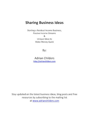 Sharing Business Ideas Download eBook