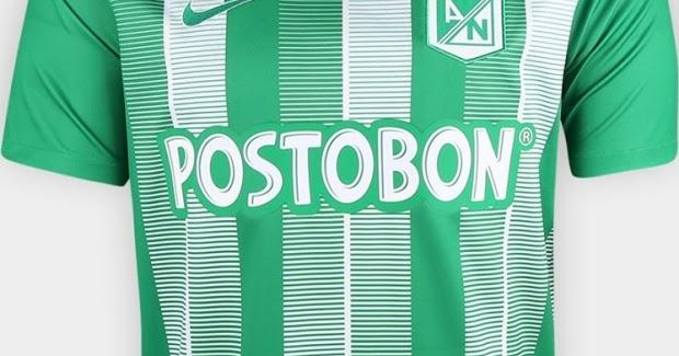 Nike lança nova camisa titular do Atlético Nacional - Show de Camisas 25c7efcdc0796