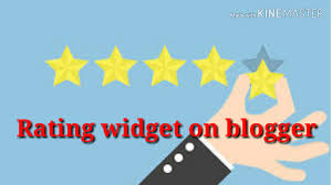 How to add Rating widget on blogger post.blogger post में Rating widget कैसे लगायें।