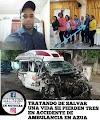 Azúa:- Una enfermera, un paramédico y una mujer enferma murieron en el choque de una ambulancia