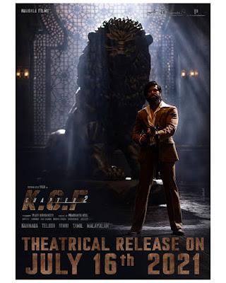 KGF 2 Promotion Poster