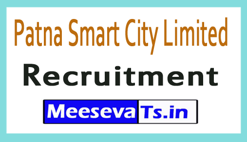 Patna Smart City Limited PSCL Recruitment
